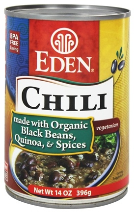 Eden Foods - Chili Organic Black Bean and Quinoa - 15 oz.