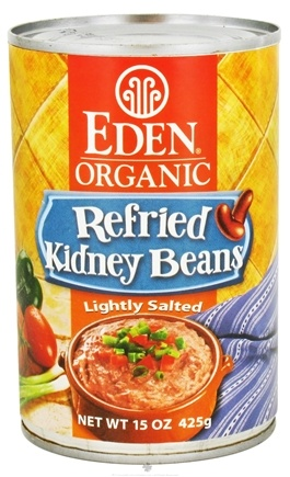 DROPPED: Eden Foods - Organic Refried Kidney Beans - 15 oz. CLEARANCE PRICED