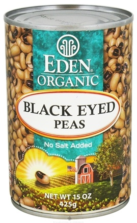 DROPPED: Eden Foods - Organic Black Eyed Peas - 15 oz. CLEARANCE PRICED
