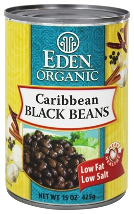 DROPPED: Eden Foods - Organic Caribbean Black Beans - 15 oz.
