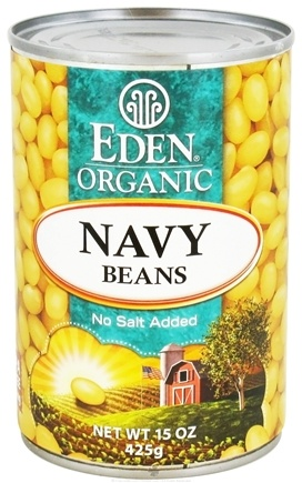 DROPPED: Eden Foods - Organic Navy Beans - 15 oz. CLEARANCE PRICED