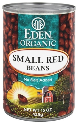 Eden Foods - Organic Small Red Beans - 15 oz.