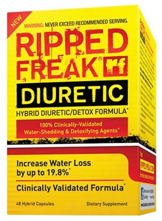 DROPPED: PharmaFreak Technologies - Ripped Freak Hybrid Diuretic/Detox Formula - 48 Capsules CLEARANCE PRICED