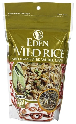 DROPPED: Eden Foods - Wild Rice Hand Harvested Whole Grain - 7 oz.