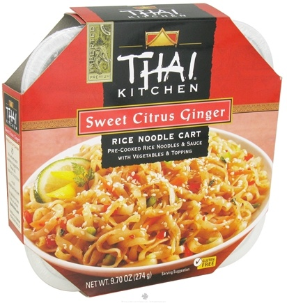 DROPPED: Thai Kitchen - Rice Noodle Cart Sweet Citrus Ginger - 9.7 oz. CLEARANCE