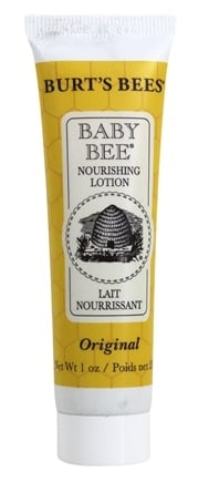 DROPPED: Burt's Bees - Baby Bee Nourishing Lotion Original - 1 oz. Travel Size Mini