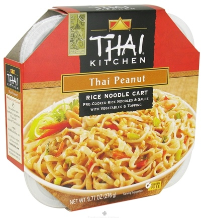 DROPPED: Thai Kitchen - Rice Noodle Cart Thai Peanut - 9.77 oz. CLEARANCE