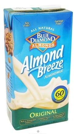 DROPPED: Blue Diamond Growers - Almond Breeze Almond Milk Original - 0.5 Gallon CLEARANCE PRICED