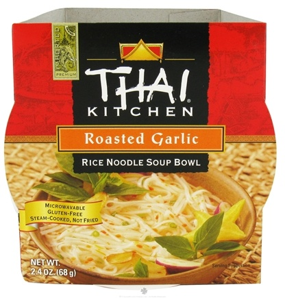 DROPPED: Thai Kitchen - Rice Noodle Soup Bowl Roasted Garlic - 2.4 oz. CLEARANCE