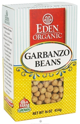 DROPPED: Eden Foods - Organic Dry Garbanzo Beans - 16 oz.