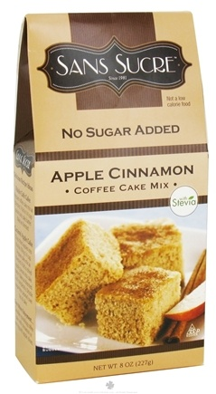 DROPPED: Sans Sucre - Coffee Cake Mix Apple Cinnamon - 8 oz.