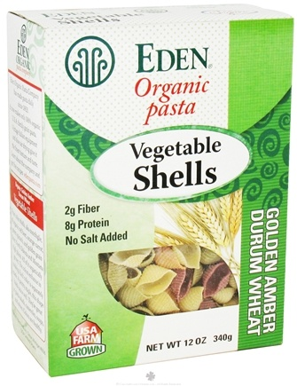 DROPPED: Eden Foods - Organic Pasta Vegetable Shells - 12 oz.