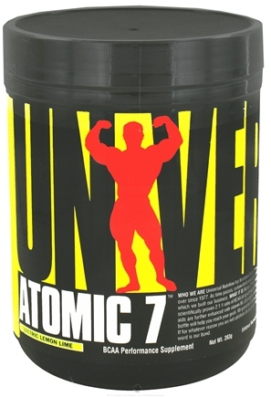 DROPPED: Universal Nutrition - Atomic 7 BCAA Performance 'Lectric Lemon Lime 30 Servings - 393 Grams CLEARANCE PRICED