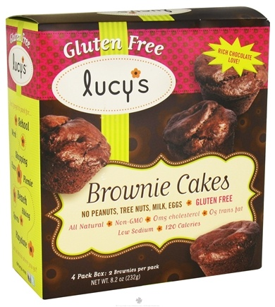 DROPPED: Dr. Lucy's - Gluten Free Brownie Cakes - 4 Pack(s)