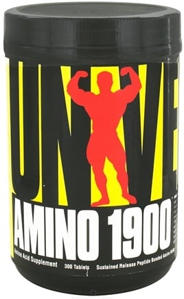 DROPPED: Universal Nutrition - Amino 1900 Amino Acid Supplement - 300 Tablets CLEARANCE PRICED