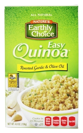 DROPPED: Nature's Earthly Choice - Easy Quinoa Roasted Garlic & Olive Oil - 4.8 oz.