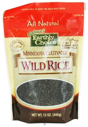 DROPPED: Nature's Earthly Choice - Minnesota Cultivated Wild Rice - 12 oz.