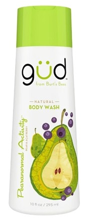 DROPPED: GUD From Burt's Bees - Body Wash Natural Pearanormal Activity - 10 oz.
