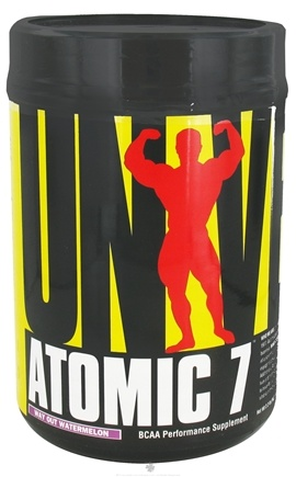 DROPPED: Universal Nutrition - Atomic 7 BCAA Powder Performance Way Out Watermelon 78 Servings - 1 kg. CLEARANCE PRICED
