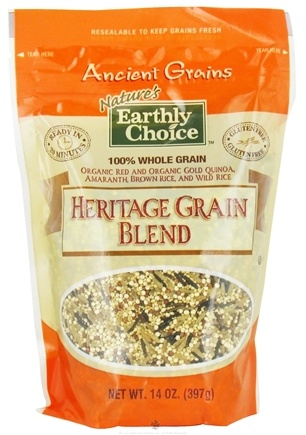 DROPPED: Nature's Earthly Choice - Heritage Grain Blend - 14 oz. CLEARANCE PRICED