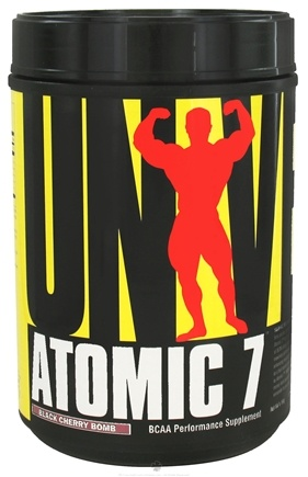 Universal Nutrition - Atomic 7 BCAA Powder Performance Black Cherry Bomb 78 Servings - 1.16 kg. CLEARANCE PRICED