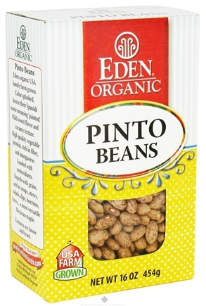 DROPPED: Eden Foods - Organic Dry Pinto Beans - 16 oz.