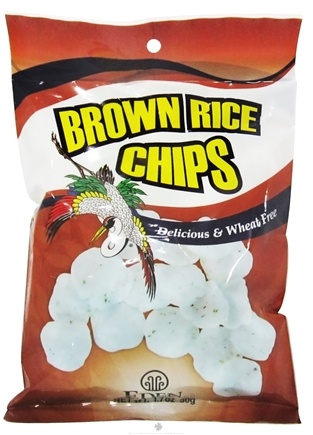 DROPPED: Eden Foods - Brown Rice Chips - 1.7 oz.