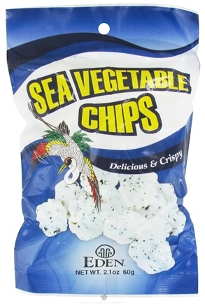 DROPPED: Eden Foods - Sea Vegetable Chips - 2.1 oz. CLEARANCE PRICED