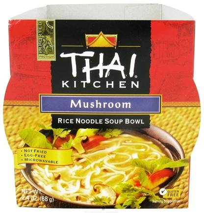 DROPPED: Thai Kitchen - Rice Noodle Soup Bowl Mushroom - 2.4 oz. CLEARANCE