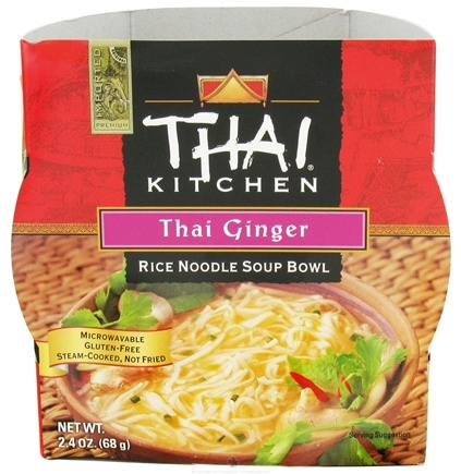 DROPPED: Thai Kitchen - Rice Noodle Soup Bowl Thai Ginger - 2.4 oz. CLEARANCE PRICED