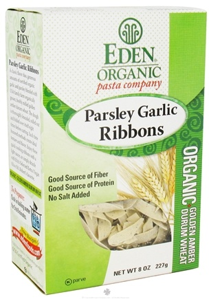 DROPPED: Eden Foods - Organic Pasta Parsley Garlic Ribbons - 8 oz.
