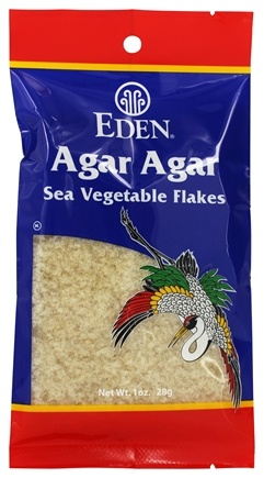 Eden Foods - Agar Agar Sea Vegetable Flakes - 1 oz.