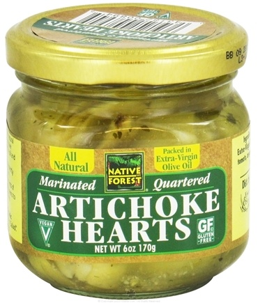 DROPPED: Native Forest - Artichoke Hearts Quartered & Marinated - 6 oz. CLEARANCE PRICED