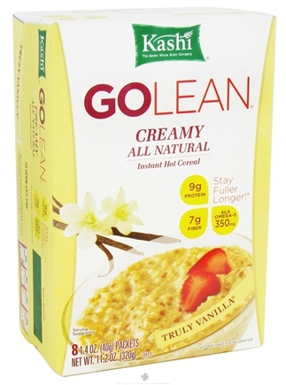 DROPPED: Kashi - GoLean Instant Hot Cereal Truly Vanilla - 11.2 oz. CLEARANCE PRICED