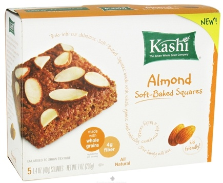 DROPPED: Kashi - Soft Baked Squares Almond - 7 oz.