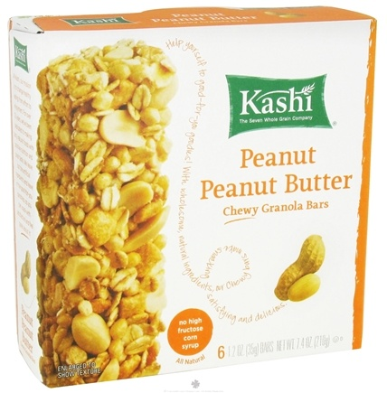 DROPPED: Kashi - Chewy Granola Bars Peanut Butter - 7.4 oz.