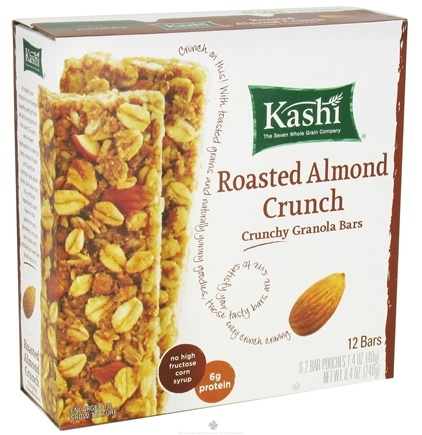 DROPPED: Kashi - Crunchy Granola Bars Roasted Almond Crunch - 8.4 oz.