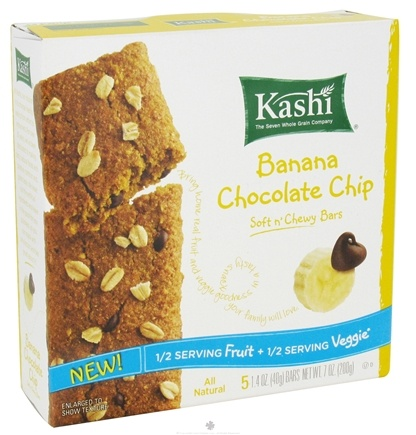 DROPPED: Kashi - Soft n Chewy Bars Banana Chocolate Chip - 7 oz.