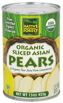 DROPPED: Native Forest - Asian Pears Sliced Organic - 15 oz.