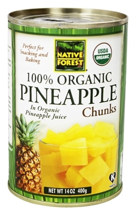Native Forest - Pineapple Chunks Organic - 14 oz.
