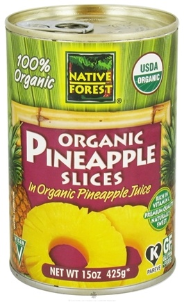 DROPPED: Native Forest - Pineapple Slices Organic - 15 oz. CLEARANCE PRICED