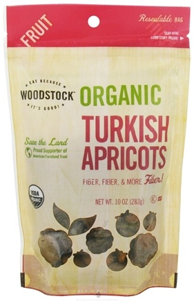 DROPPED: Woodstock Farms - Organic Turkish Apricots - 10 oz.