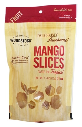 Woodstock Farms - All-Natural Mango Slices - 7.5 oz.