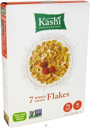 DROPPED: Kashi - Organic Cereal 7 Whole Grain Flakes - 12.6 oz.