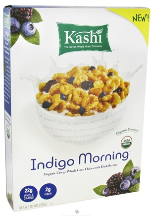 DROPPED: Kashi - Organic Cereal Indigo Morning - 10.3 oz. CLEARANCE PRICED