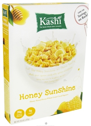 DROPPED: Kashi - Cereal Squares Honey Sunshine - 10.5 oz.