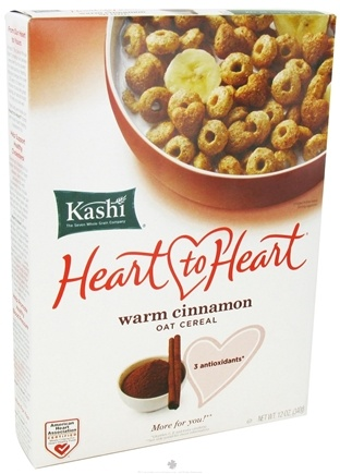 DROPPED: Kashi - Heart to Heart Oat Cereal Warm Cinnamon - 12 oz. CLEARANCE PRICED