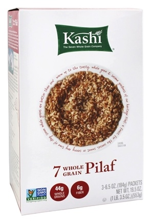 Kashi - 7 Whole Grain Pilaf (3 x 6.5 oz Packets) - 19.5 oz.