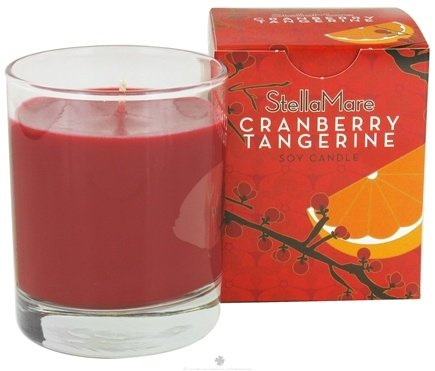 DROPPED: Stella Mare - Soy Candle Cranberry Tangerine - 5 oz.