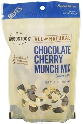 DROPPED: Woodstock Farms - All-Natural Chocolate Cherry Munch Mix - 10 oz.